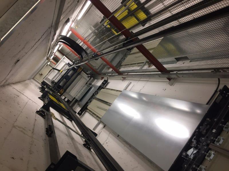 eBay / PayPal lift installation, Richmond - Case studies